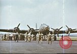 Image of B-17 Flying Fortress bomber crew United Kingdom, 1943, second 15 stock footage video 65675061386
