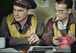 Image of B-17 crew debriefing United Kingdom, 1943, second 8 stock footage video 65675061390