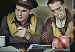 Image of B-17 crew debriefing United Kingdom, 1943, second 13 stock footage video 65675061390