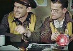 Image of B-17 crew debriefing United Kingdom, 1943, second 16 stock footage video 65675061390