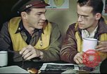 Image of B-17 crew debriefing United Kingdom, 1943, second 18 stock footage video 65675061390