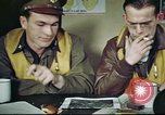 Image of B-17 crew debriefing United Kingdom, 1943, second 32 stock footage video 65675061390