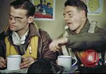 Image of B-17 crew debriefing United Kingdom, 1943, second 51 stock footage video 65675061390