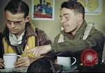 Image of B-17 crew debriefing United Kingdom, 1943, second 54 stock footage video 65675061390