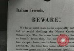 Image of 5th Army soldiers Cassino Italy, 1944, second 53 stock footage video 65675061456