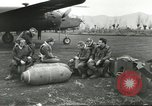 Image of B-25 Mitchell bomber Cassino Italy, 1944, second 13 stock footage video 65675061466
