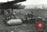 Image of B-25 Mitchell bomber Cassino Italy, 1944, second 14 stock footage video 65675061466