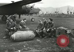 Image of B-25 Mitchell bomber Cassino Italy, 1944, second 15 stock footage video 65675061466