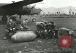 Image of B-25 Mitchell bomber Cassino Italy, 1944, second 16 stock footage video 65675061466