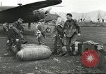 Image of B-25 Mitchell bomber Cassino Italy, 1944, second 17 stock footage video 65675061466