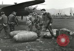 Image of B-25 Mitchell bomber Cassino Italy, 1944, second 18 stock footage video 65675061466