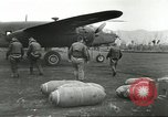 Image of B-25 Mitchell bomber Cassino Italy, 1944, second 22 stock footage video 65675061466