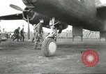 Image of B-25 Mitchell bomber Cassino Italy, 1944, second 23 stock footage video 65675061466