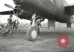 Image of B-25 Mitchell bomber Cassino Italy, 1944, second 24 stock footage video 65675061466