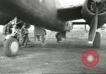Image of B-25 Mitchell bomber Cassino Italy, 1944, second 28 stock footage video 65675061466