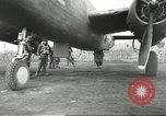 Image of B-25 Mitchell bomber Cassino Italy, 1944, second 29 stock footage video 65675061466
