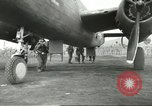 Image of B-25 Mitchell bomber Cassino Italy, 1944, second 32 stock footage video 65675061466