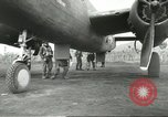 Image of B-25 Mitchell bomber Cassino Italy, 1944, second 33 stock footage video 65675061466