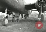 Image of B-25 Mitchell bomber Cassino Italy, 1944, second 34 stock footage video 65675061466