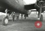 Image of B-25 Mitchell bomber Cassino Italy, 1944, second 35 stock footage video 65675061466