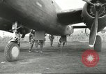 Image of B-25 Mitchell bomber Cassino Italy, 1944, second 37 stock footage video 65675061466