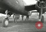 Image of B-25 Mitchell bomber Cassino Italy, 1944, second 39 stock footage video 65675061466