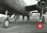 Image of B-25 Mitchell bomber Cassino Italy, 1944, second 40 stock footage video 65675061466