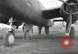 Image of B-25 Mitchell bomber Cassino Italy, 1944, second 41 stock footage video 65675061466