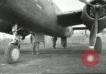 Image of B-25 Mitchell bomber Cassino Italy, 1944, second 42 stock footage video 65675061466
