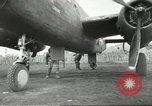 Image of B-25 Mitchell bomber Cassino Italy, 1944, second 43 stock footage video 65675061466