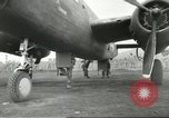 Image of B-25 Mitchell bomber Cassino Italy, 1944, second 46 stock footage video 65675061466
