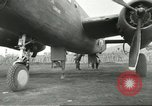 Image of B-25 Mitchell bomber Cassino Italy, 1944, second 47 stock footage video 65675061466