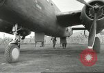 Image of B-25 Mitchell bomber Cassino Italy, 1944, second 49 stock footage video 65675061466