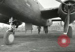 Image of B-25 Mitchell bomber Cassino Italy, 1944, second 50 stock footage video 65675061466