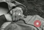 Image of dead American soldier Cassino Italy, 1944, second 2 stock footage video 65675061474