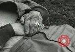 Image of dead American soldier Cassino Italy, 1944, second 4 stock footage video 65675061474
