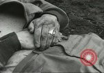 Image of dead American soldier Cassino Italy, 1944, second 5 stock footage video 65675061474