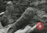 Image of dead American soldier Cassino Italy, 1944, second 6 stock footage video 65675061474