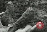 Image of dead American soldier Cassino Italy, 1944, second 7 stock footage video 65675061474