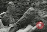 Image of dead American soldier Cassino Italy, 1944, second 8 stock footage video 65675061474