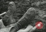 Image of dead American soldier Cassino Italy, 1944, second 9 stock footage video 65675061474
