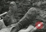Image of dead American soldier Cassino Italy, 1944, second 11 stock footage video 65675061474