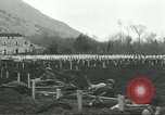 Image of dead American soldier Cassino Italy, 1944, second 24 stock footage video 65675061474