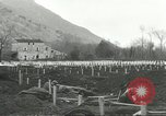 Image of dead American soldier Cassino Italy, 1944, second 29 stock footage video 65675061474