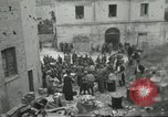 Image of Italian refugees Cassino Italy, 1944, second 21 stock footage video 65675061477