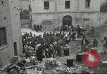 Image of Italian refugees Cassino Italy, 1944, second 23 stock footage video 65675061477