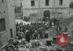 Image of Italian refugees Cassino Italy, 1944, second 25 stock footage video 65675061477