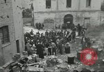 Image of Italian refugees Cassino Italy, 1944, second 28 stock footage video 65675061477