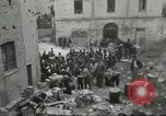 Image of Italian refugees Cassino Italy, 1944, second 31 stock footage video 65675061477