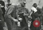 Image of Italian refugees Cassino Italy, 1944, second 37 stock footage video 65675061477